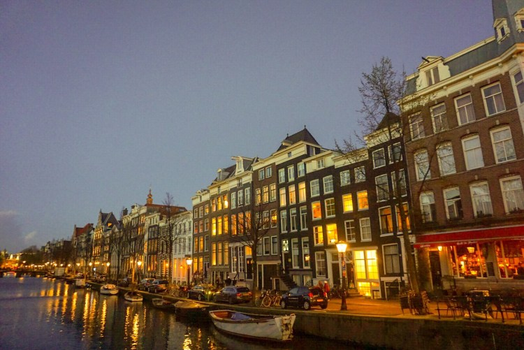 Night shot - Amsterdam photo diary