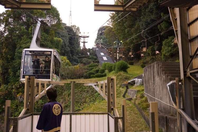Matsuyamajō Ropeway