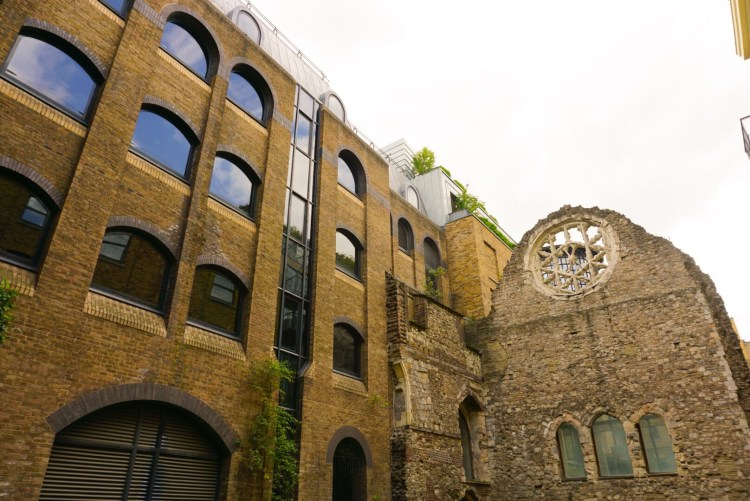 Things to do in London Bridge - see the ruins of Southwark Cathedral