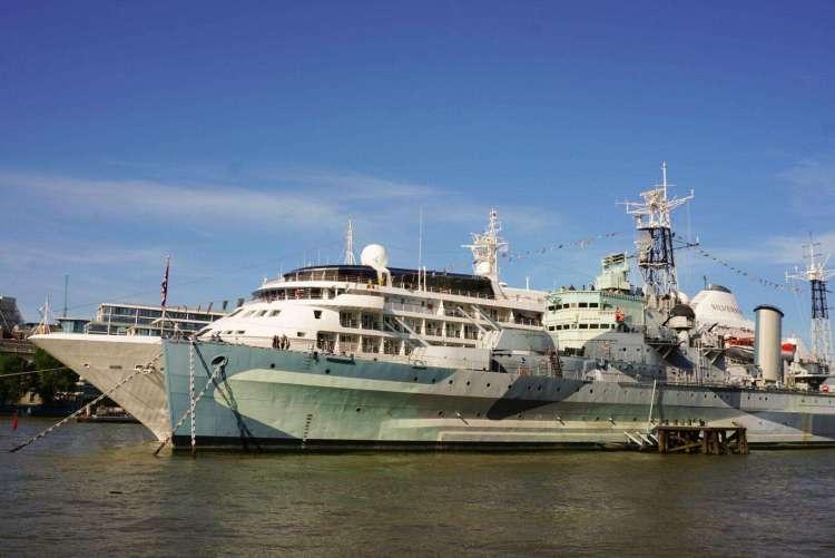 Things to do in London Bridge - admire HMS Belfast