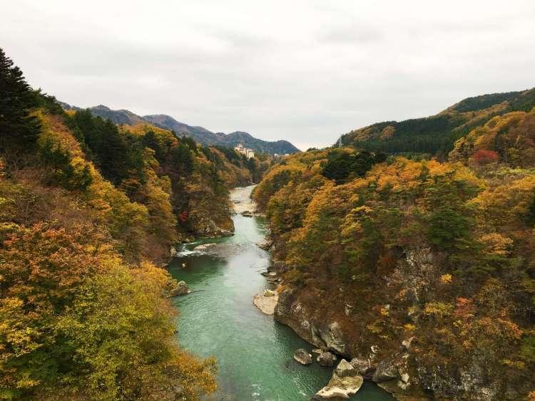 13 reasons to visit Japan in autumn: Kinugawa River