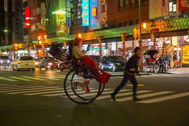 Things to do in Asakusa? Get a Jinrikisha or rickshaw ride