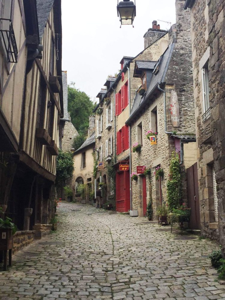 Dinan, one of the most charming towns in Brittany