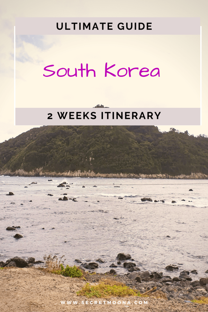 Planning a trip to South Korea? Our complete two weeks South Korea itinerary offers a mix of modern and traditional Korean culture and includes cities to visit and top attractions to see. #SouthKorea #Travel #Seoul #Itinerary