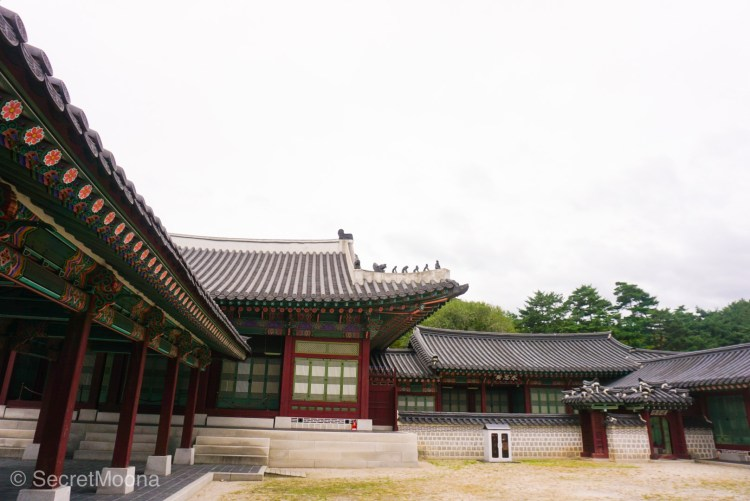 Korean palace, South Korea Itinerary