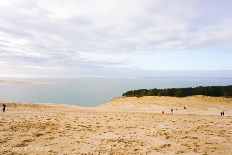 People enjoying Dune du Pilat