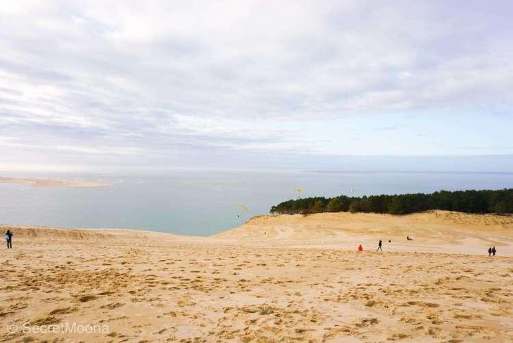 People enjoying Dune du Pilat