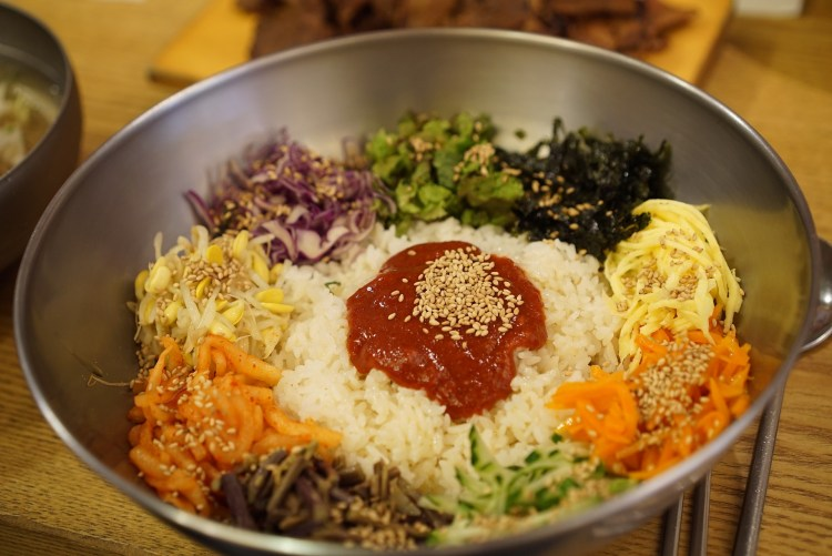 South Korea bucket list - taste the delicious bibimbap