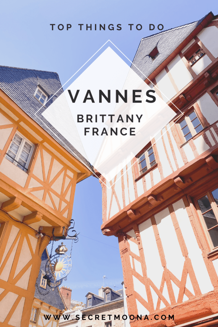 Travel guide to Vannes, Brittany France