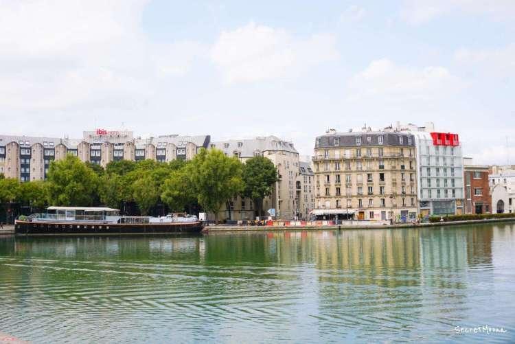 Bassin de la Villette, Paris 19eme