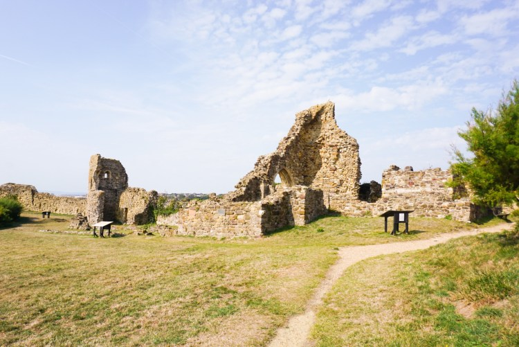 Hastings Castle - Hastings day trip - SecretMoona