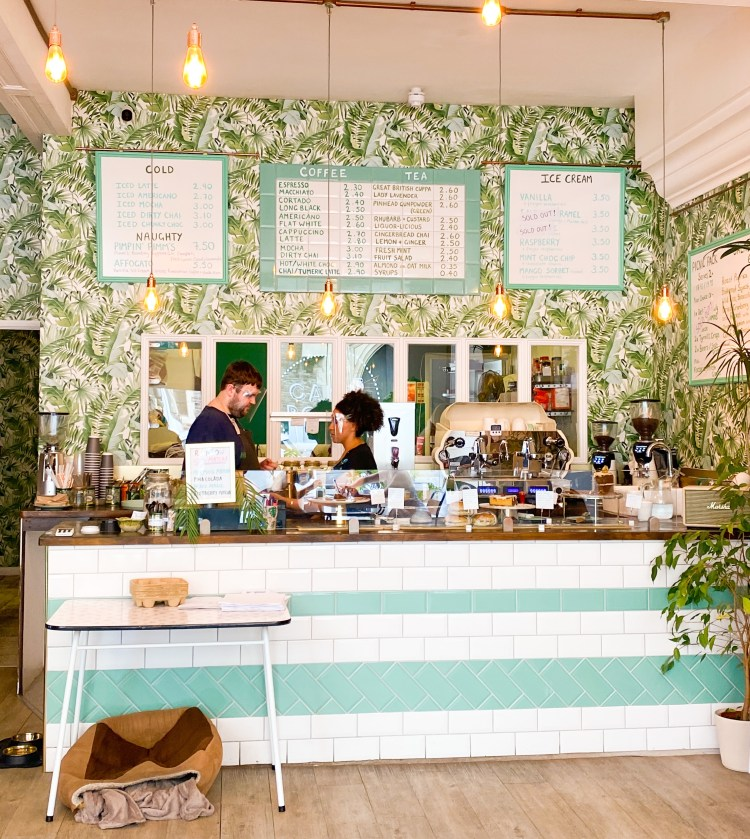 Inside Tea Room in Hastings - things to do in Hastings, East Sussex