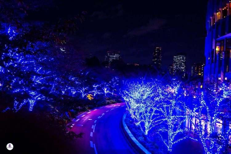 Roppongi Hills Artelligent Blue Christmas, Tokyo