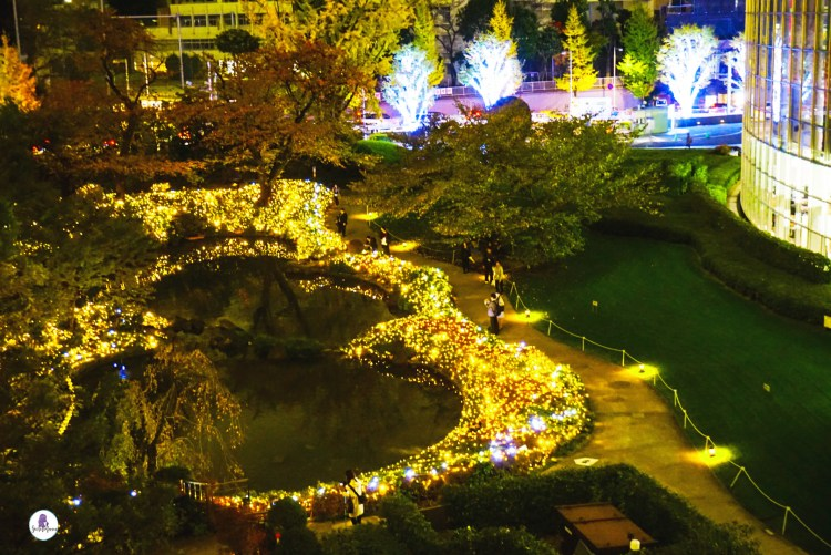 Roppongi Hills Garden Illumination
