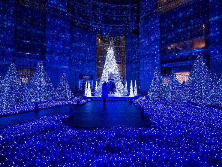 Tokyo winter illumination - Caretta Shiodome
