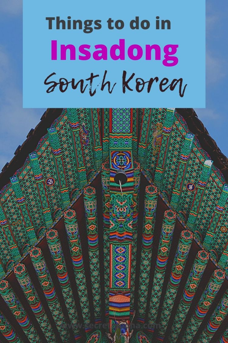 Insadong is the most charming and traditional district in Seoul where you can experience the Korean culture. Follow along to find out what are the best things to do in #Insadong.