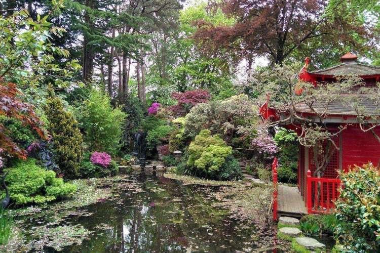 Compton Acres Japanese Garden, UK