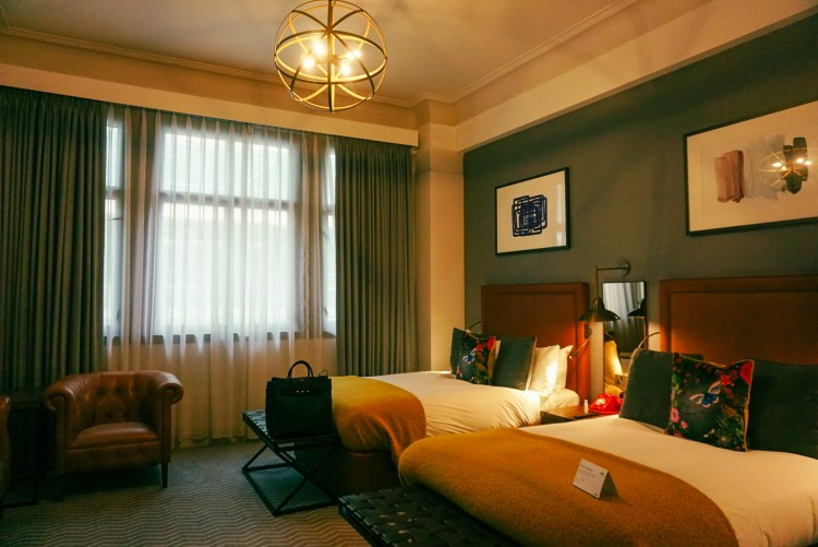 Superior double room at the Kimpton Clocktower Hotel