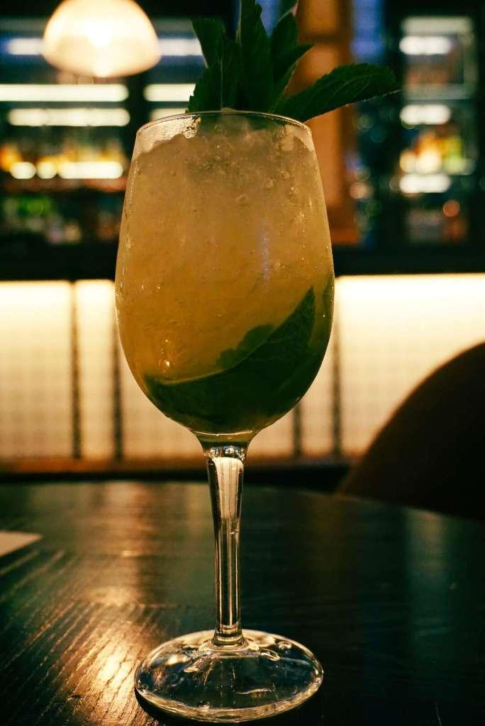 Cocktail at The Refuge Bar