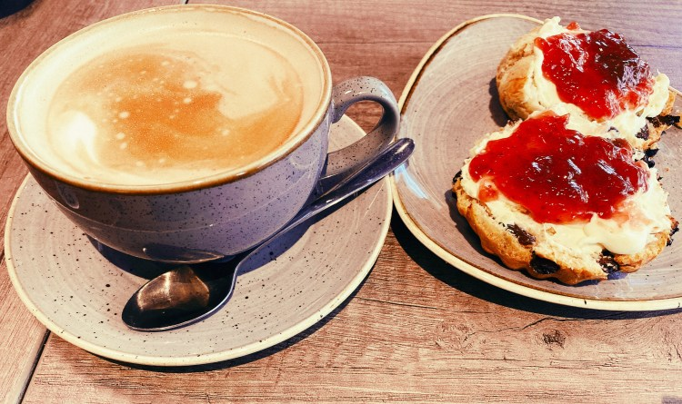 Coffee and scones - what to eat in Manchester