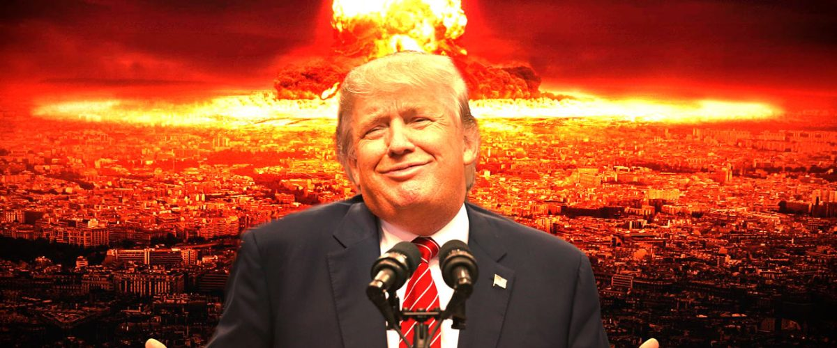 """Donald Trump déclenche la guerre atomique : """"Fallait pas m'emmerder !"""""""