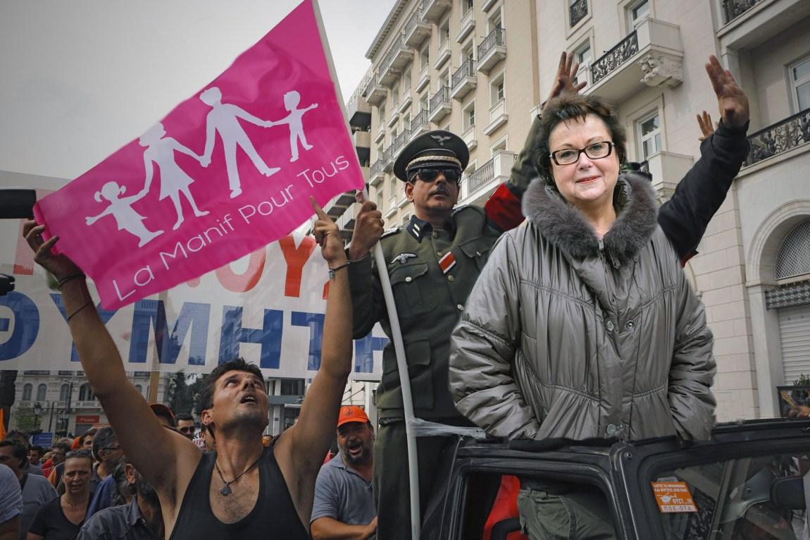 christine-boutin-manif-pour-tous-gay-nazi Manif Pour Tous : 10 participants selon la police, 11 selon Christine Boutin