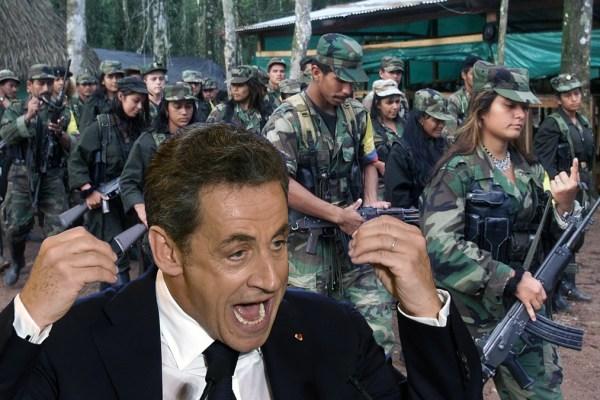 """Ingrid Betancourt : """"Nicolas Sarkozy faisait peur aux farcs autant qu'aux français""""."""