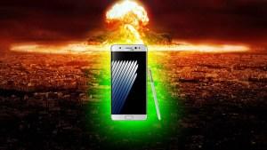 Galaxy Note 7 : Radioactivité et danger d'explosion atomique !
