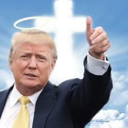 Donald Trump renonce à son salaire et donne 2$ à un SDF, le Vatican parle de le canoniser