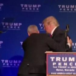 Donald Trump kidnappé par des agents du Mossad lors d'un meeting à Tel-Aviv