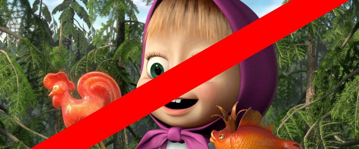 """Le Front National souhaite interdire Masha et Michka. """"Pas de filles voilées sur nos écrans"""""""