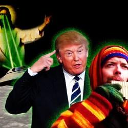 Donald Trump prêt à travailler avec Sylvain Durif sur la question de l'immigration spatiale