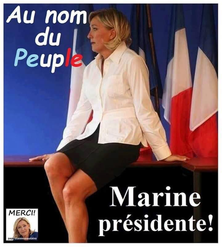 montage-Marine-Le-Pen-03 TOP 50 des plus beaux montages photos de Marine Le Pen : Il y a du talent au FN !