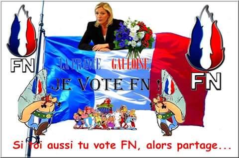 montage-Marine-Le-Pen-12 TOP 50 des plus beaux montages photos de Marine Le Pen : Il y a du talent au FN !