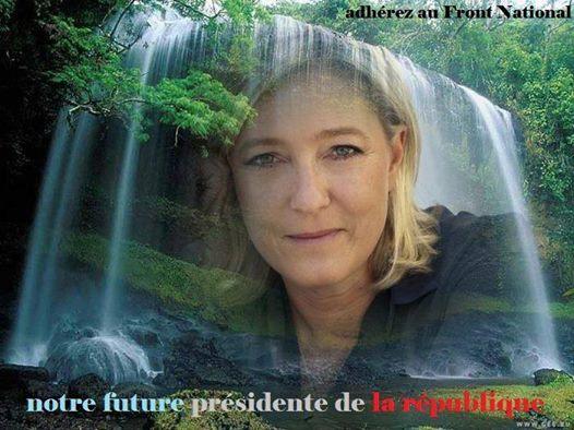 montage-Marine-Le-Pen-14 TOP 50 des plus beaux montages photos de Marine Le Pen : Il y a du talent au FN !