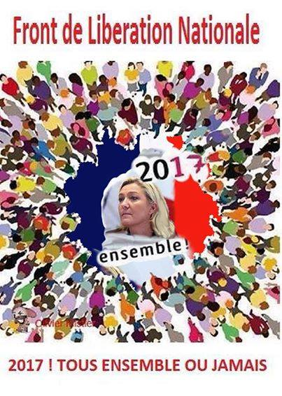 montage-Marine-Le-Pen-28 TOP 50 des plus beaux montages photos de Marine Le Pen : Il y a du talent au FN !