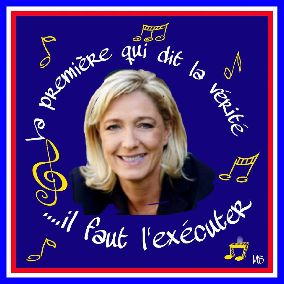 montage-Marine-Le-Pen-31 TOP 50 des plus beaux montages photos de Marine Le Pen : Il y a du talent au FN !