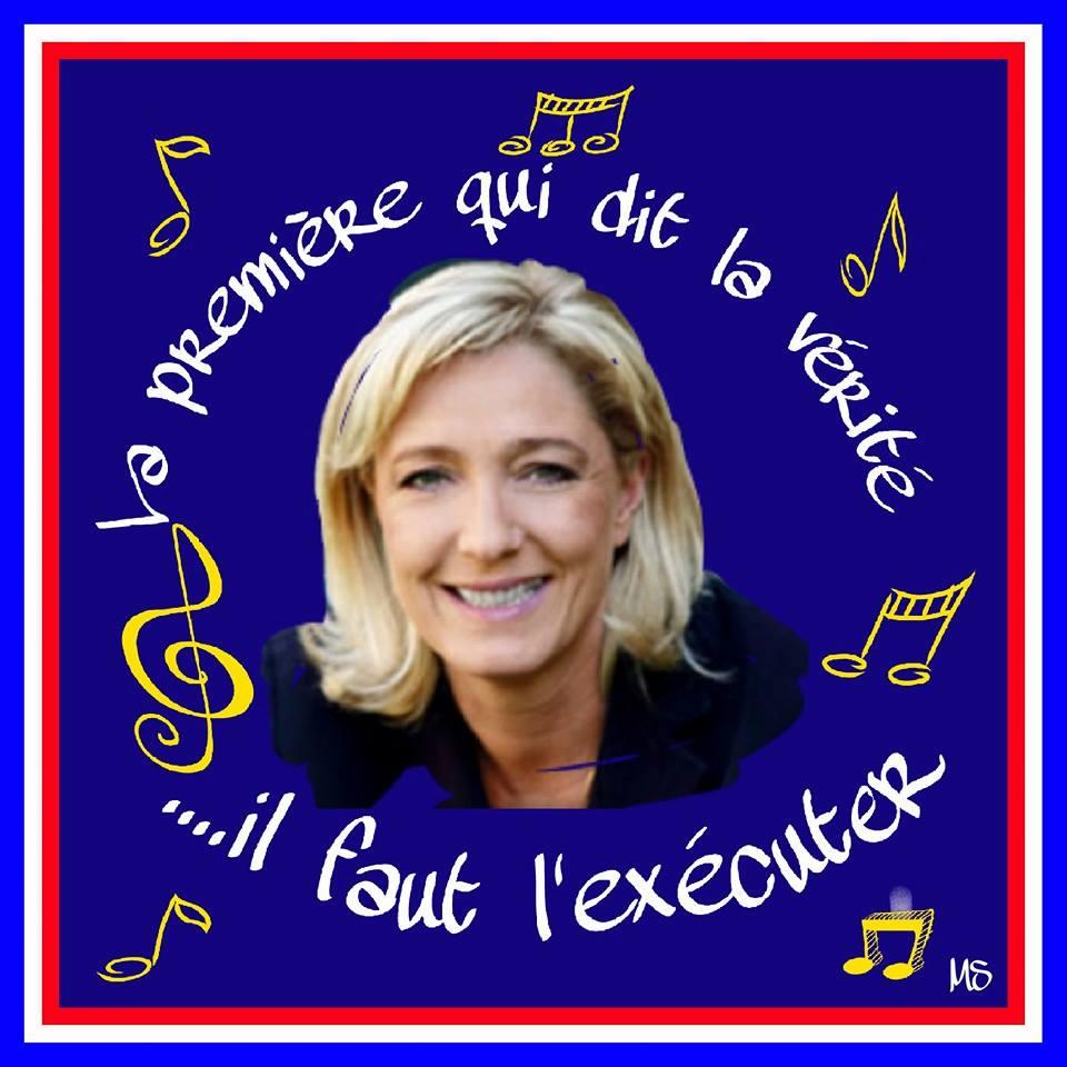 montage-Marine-Le-Pen-31 TOP 50 des plus beaux montages photos de Marine Le Pen : Il y a du talent au FN !