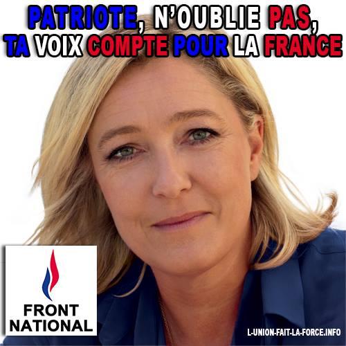 montage-Marine-Le-Pen-33 TOP 50 des plus beaux montages photos de Marine Le Pen : Il y a du talent au FN !