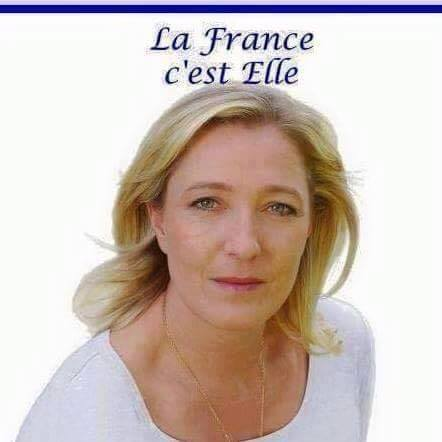 montage-Marine-Le-Pen-34 TOP 50 des plus beaux montages photos de Marine Le Pen : Il y a du talent au FN !