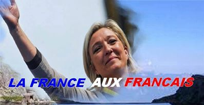 montage-Marine-Le-Pen-48 TOP 50 des plus beaux montages photos de Marine Le Pen : Il y a du talent au FN !