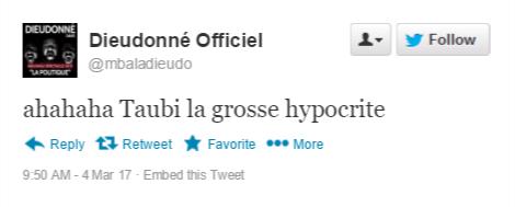 """66dfv """"Benoit Hamon est juif, ça se voit à son pif"""" - Les tweets antisémites de Christiane Taubira"""