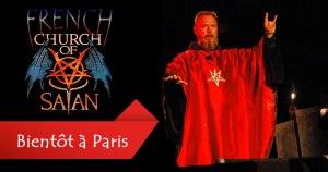 """La première """"Eglise de Satan"""" française ouvrira bientôt ses portes à Paris – 6.000 fidèles sont attendus"""