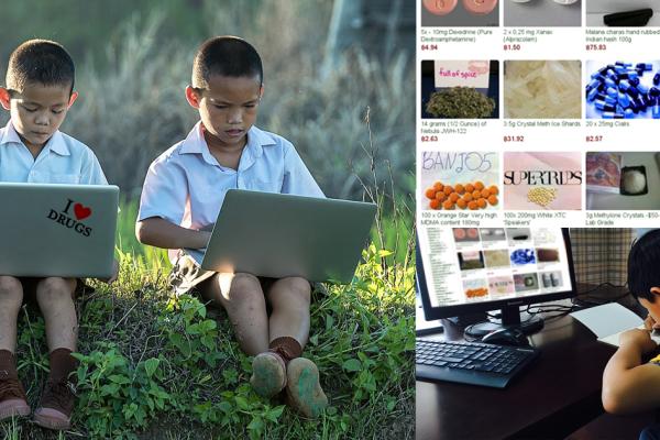 Thaïlande : Des enfants de moins de 12 ans à la tête d'un trafic de drogue international sur le darknet