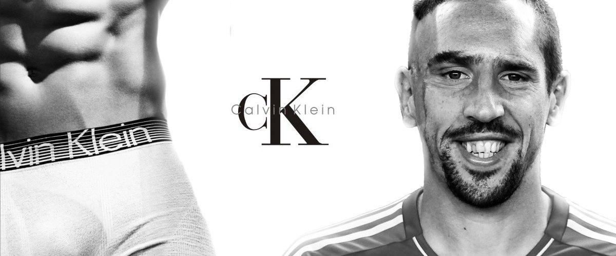 Franck Ribery : Nouvelle égérie de Calvin Klein, séducteur en sous-vêtements