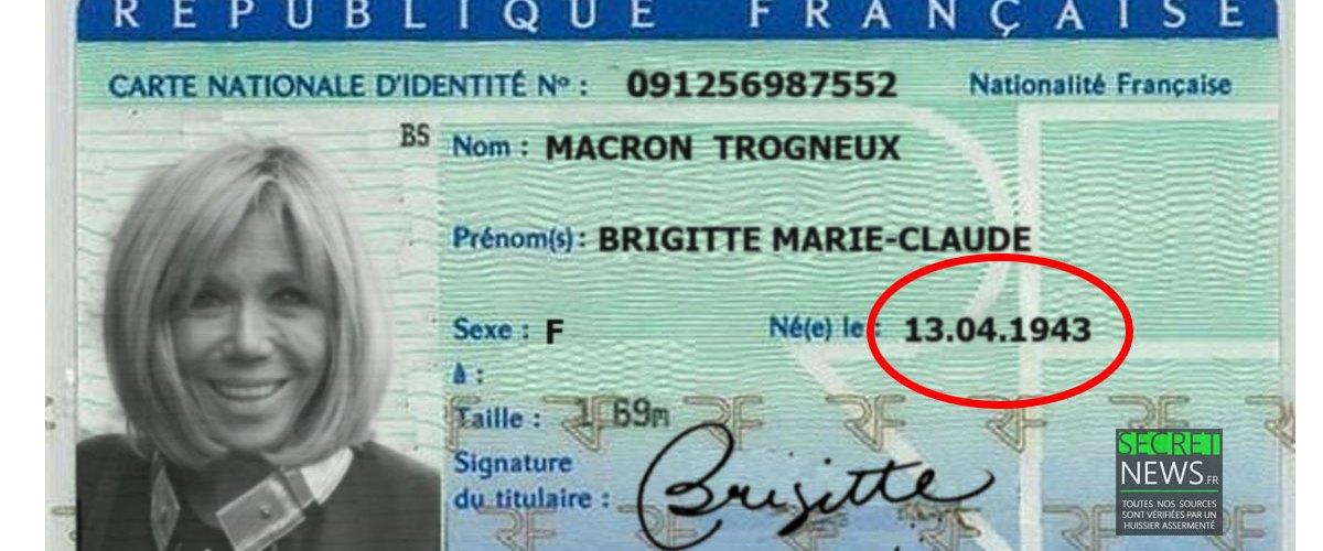Brigitte Macron a-t-elle menti sur son âge ? Wikileaks dévoile des documents d'identité compromettants