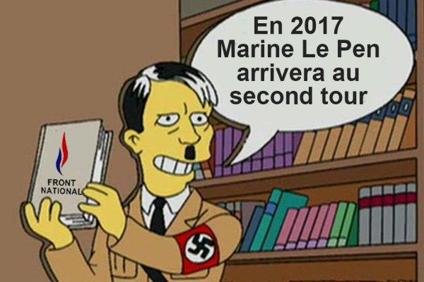 Il y a 15 ans les Simpson avaient prédit la victoire de Marine Le Pen au premier tour