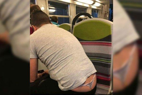 Après le ManSpreading, voici le ManInString … une nouvelle tendance macho-facho dans le métro