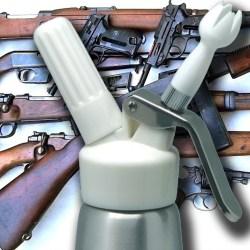 Le siphon à chantilly classé comme arme de catégorie A par le ministère de l'intérieur