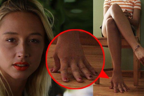 La nouvelle star du porno russe a des mains à la place des pieds